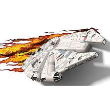 Star Wars Millennium Falcon 3D Deco LED Wall Night Light Lighting Crack Sticker