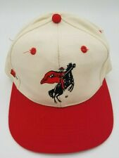 Vintage Texas Tech Red Raiders Top of the World Fitted Hat Deadstock 90's 6 3/4