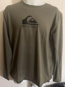 New  Solid Streak LS Surf Shirt - Kalamata - Free Shipping MSRP $40