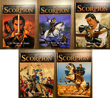 Le Scorpion - Tome 1 à 5 - Marini / Desberg