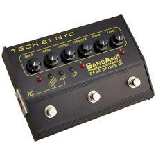 Tech 21 SansAmp Programmable Bass Driver Di Analog 3-Ch Guitar Effects Pedal