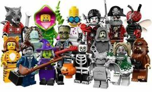 New (Opened) LEGO 71010 Minifigures, Series 14: Monsters - Halloween!