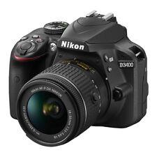 Nikon D3400 24.2 MP fotocamera DSLR + 18-55 mm VR OBIETTIVO AF-P nel Regno Unito