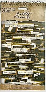 TIM HOLTZ IDEA-OLOGY STICKERS BOOK ~METALLIC STICKER BOOK CODE TH94134