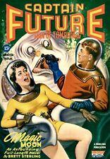 Pulp SciFi Prints: Magic Moon - Captain Future - 1944