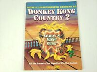 DONKEY KONG COUNTRY 2 BRADYGAMES SECRETS STRATEGY GAME GUIDE