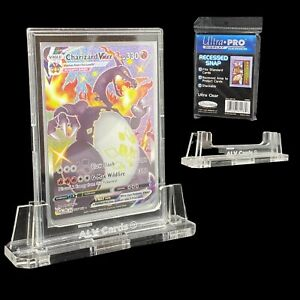 Acrylic Card Display Stand + Snap Case - Raw Pokemon TCG