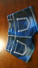 Rock and Roll Cowgirl shorts bling studs R low rise 26 heavy W 30 x L 3 $80 NWT