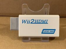WiI TO HDMI ADAPTER WII2HDMI OUTPUT 1080P 720P CONVERTER UK 🇬🇧 Stock -Free P&P