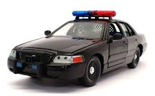 Classic Metal Works 1/24 Scale 1-01762 - Ford Police Car - Black