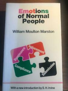 Emotions of Normal People - William Moulton Marston