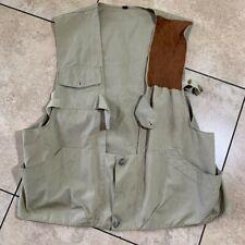 Vintage Abercrombie & Fitch Safari Fly fishing Vest Size 44