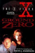 THE X-FILES: GROUND ZERO (1995) Kevin J. Anderson- Harper Prism HC  - TV Series