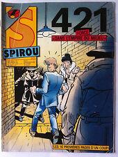 """c)SPIROU N°2471; 421 """"dans l'empire du milieu"""""""