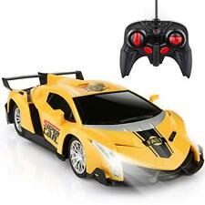 Growsland Remote Control Car, Rc Cars Xmas Gifts for Kids 1/24 Electric Sport Ra