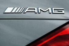 Mercedes Benz NEW STYLE AMG Boot Badge Rear Emblem Decal MB C E A GL SLK New