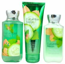 Bath & Body Works Signature Collection Cucumber Melon Gift Set Cream Gel Lotion