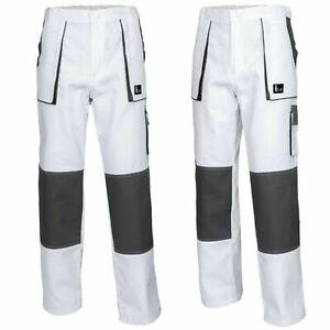 Work Trousers 100% Cotton Painter & Decorator Combat Style Men // Fast UK DP