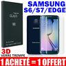 Pack-2 Vitre Film Protection VERRE Trempé Incurvé Écran Samsung S6 S7 Edge S8 +
