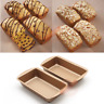 2PCS Non Stick Toast Bread Cake Baking Loaf Pan Meatloaf Kitchen Bakeware