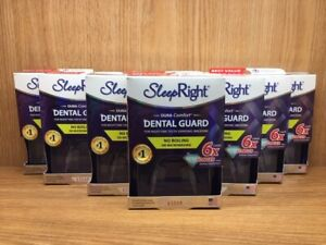 *NEW Sleep Right No-Boil Dental Guard Dura Comfort w/Storage Case LOT of 10