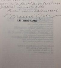 Ménie GRÉGOIRE : Le Bien-Aimé, envoi autographe