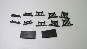 Vintage 12 Piece Train Track Short Trestle Set HO Gauge Scale tr1575