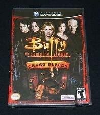 Buffy the Vampire Slayer: Chaos Bleeds (Nintendo GameCube, 2003) - New & Sealed