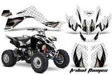 Suzuki LTZ 400 AMR Racing Graphic Kit Wrap Quad Decals ATV 2009-2012 TRIBAL BLK