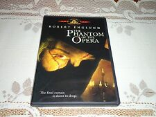 MINT DVD The Phantom of the Opera (Widescreen and Full, 2004) Robert Englund