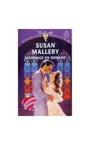 Marriage On Demand (Special Edition) by Mallery, Susan Paperback Book The Cheap