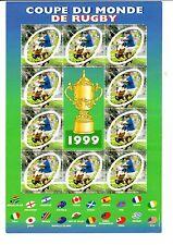 Bloc n° 26, coupe du monde de rugby 1999, neuf