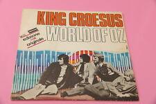 "SOLO COPERTINA WORLD OF OZ 7"" KING CROESUS ORIG ITALY 1968 EX DEBUT SINGLE"