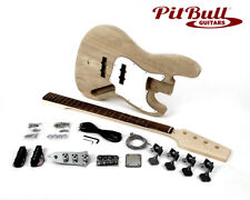 Pit Bull Guitars JBA-4 Electric Bass Guitar Kit (Ash Body)
