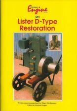 Stationary Engine On Lister D Type Restoration