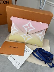 Louis Vuitton Kirigami By The Pool Collection Large Pink Pouch