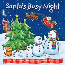 Santa's Busy Night (Xmas Board),  | Board book Book | Acceptable | 9781848527614