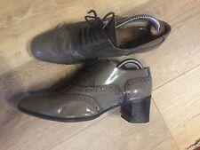 Stephane Kelian Paris Vintage Designer Ladies Heeled Brogue Shoe/Lace up 7.5/41