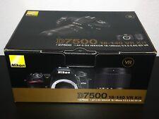 NEW Nikon D7500 20.9MP Digital SLR Camera - Black (Kit w/ 18-140mm VR Lens)