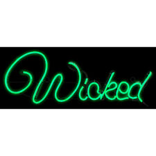 LIGHT  GLO WICKED SIGN