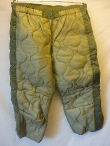 US Army : Liner ,Cold Weather , Trousers Men's ,  Hosen  Innenfutter Gr. M - L