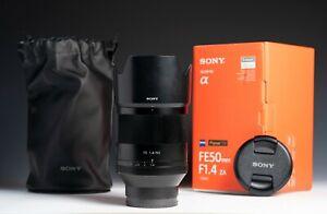 Sony Zeiss Planar T* FE 50mm F/1.4  ZA Lens for Sony E Mount