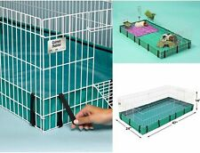 Guinea Pig Cage Habitat Enclosure Play Pen Hutch Hedgehog Animal Pet Supplies