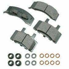 Akebono Ceramic Brake Pad Set for Chevrolet GMC ACT370 Made in USA - Ships Fast!