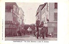2) VENTIMIGLIA (IMPERIA) VIA DELLA STAZIONE E VIALE P. AMEDEO ANIMATA BAR CAFFE'