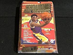1 NEW FACTORY SEALED 1998 TOPPS STADIUM CLUB SERIES 1 JUMBO BASKETBALL HOBBY BOX