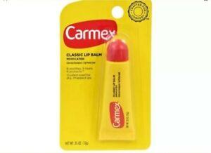 Carmex® Moisturizing Lip Balm Tube, 0.35 oz., Original New in Package