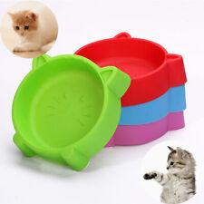 PET BOWL PET DOG CAT  SLID FADDISH FOOD FEEDING  WATER DISH  PUPPY PLASTIC