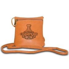 RARE PANGEA LEATHER MINI BAG BOSTON BRUINS STANLEY CUP CHAMPS MINI BAG