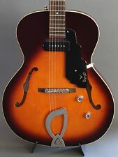 Guild T-50 Slim Hollowbody Electric Guitar Antique Burst WORLDWIDE SHIPPING
